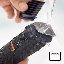 Musluk altında kolay temizlik için su geçirmez