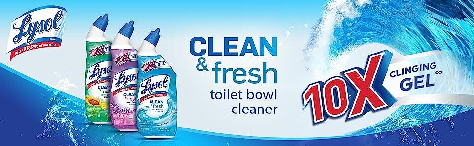 Amazon Com Lysol Clean Amp Fresh Toilet Bowl Cleaner