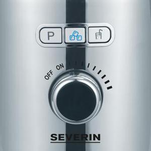 SEVERIN SM 3710 Batidora de vaso con recipiente de cristal, 1.000 W aproximadamente, 1,5 L, color acero inoxidable y negro: Amazon.es: Hogar
