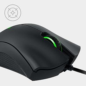 Razer DeathAdder Essential, gaming, esports, Sensor óptico, Ratón, Formato ergonómico