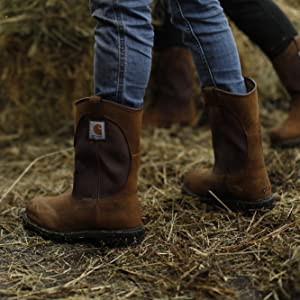 CWP1250 Work Boot, Bison Brown Oil Tan