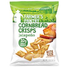 Farmer's Pantry Jalapeño Cornbread Crisps