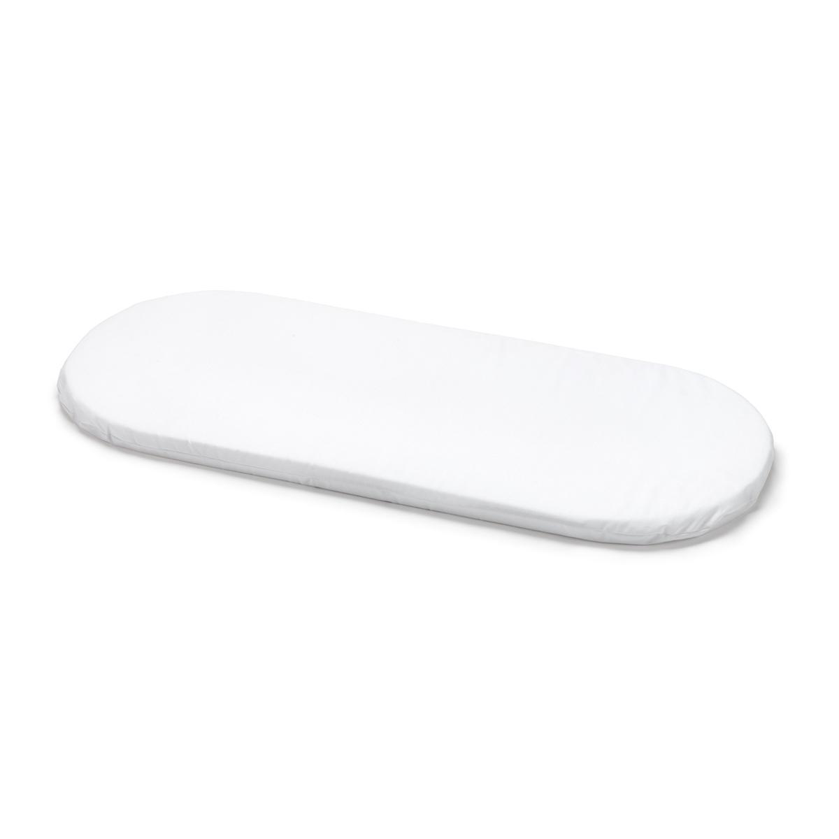 Cambrass Liso E - Colchoneta para capazo, 80 x 36 x 3 cm, color blanco: Amazon.es: Bebé