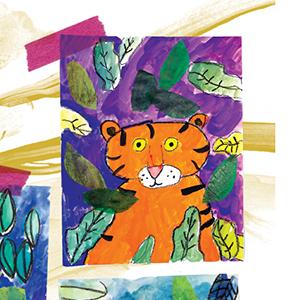 tiger, art