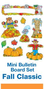 Autumn/Fall bulletin board set