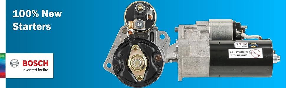 Shop Bosch 100% New Starters