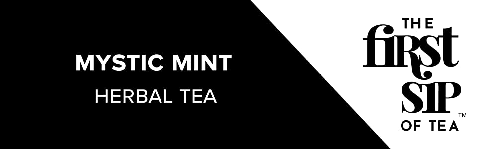 mystic mint herbal tea