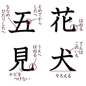 漢字 小学生 書き順 とめ はね とめはね