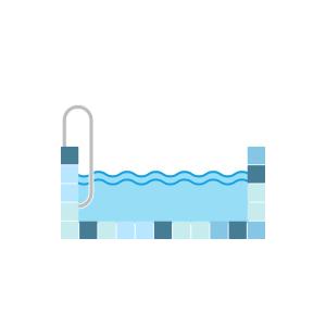 filled pool