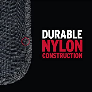 Durable Nylon Construction stands up the the elements for long lasting durability