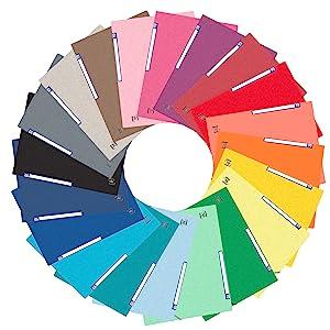 Les différentes couleurs TopFile +