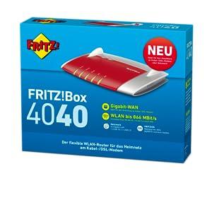 Avm Fritz Box 4040 Wlan Router 5 Ghz2 4 Ghz Computer Zubehör
