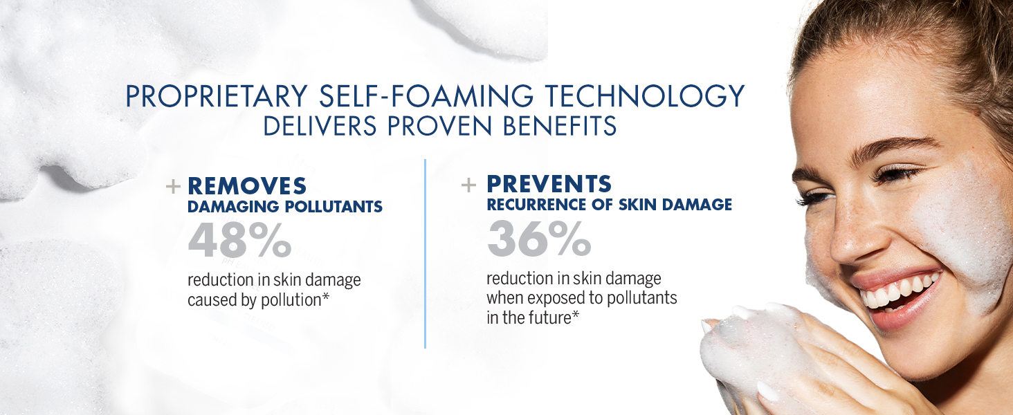 Foaming Face Wash for Sensitive Skin
