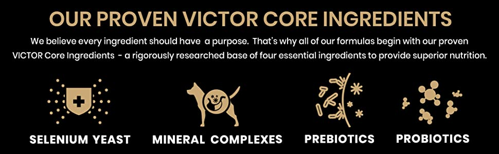 Our Proven VICTOR Core Ingredients