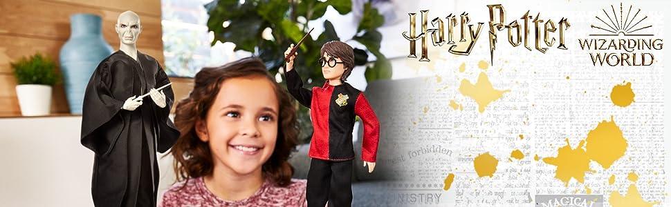 HARRY POTTER Figuras Lord Voldemort (Mattel GNR38)