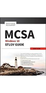 Mcsa Windows 10 Study Guide Exam 70 698 William Panek