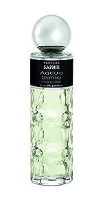 Acqua uomo man saphir hombre colonia fragancia perfume parfums