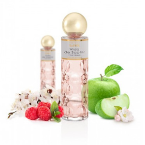 PARFUMS SAPHIR Vida - Eau de Parfum con vaporizador para Mujer - 200 ml: Amazon.es: Belleza