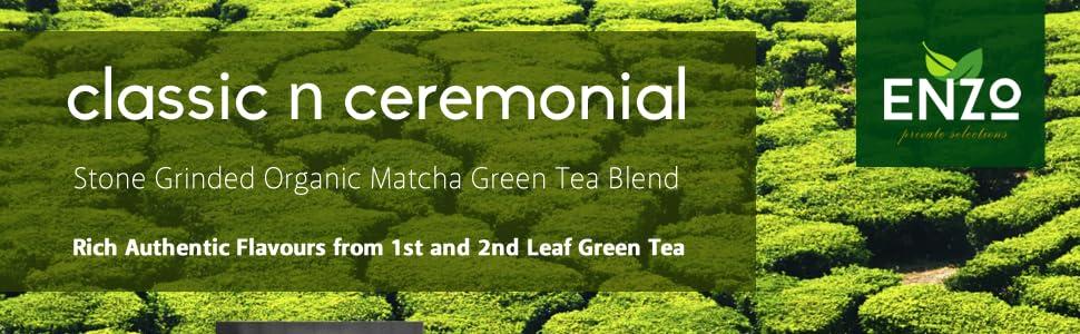 ceremonial matcha blend