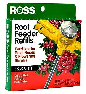 Ross Root Feeder Refill drought water conservation fertilizer rose flowering shrub