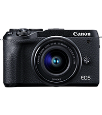 Canon Camera ES EOS M6 Mark II, Cámara Mirrorless de 32.5 MP ...