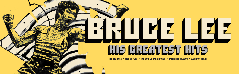 Bruce Lee His Greatest Hits banner