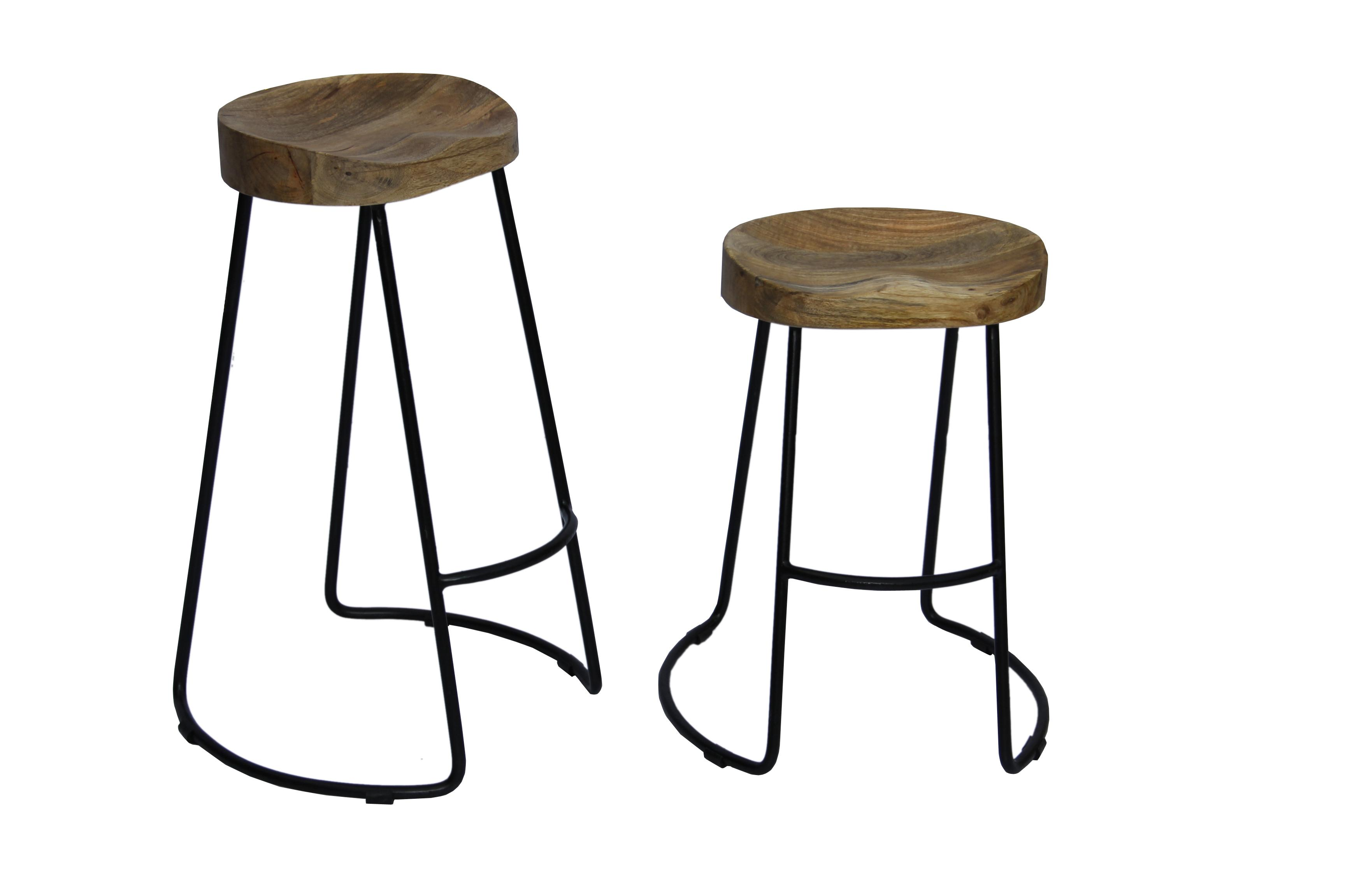Amazon The Urban Port Antique Colonial Classy Wooden Barstool