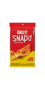 Cheez-It Snap'd, Double Cheese, 3.6 oz Pouch (6 Count)