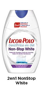 Licor del Polo - Pasta de dientes 2 en 1 Balsámico - 1ud de 75ml ...