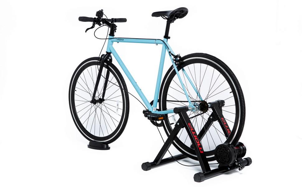 Moma bikes, Rodillo de Entrenamiento, 6 Niveles, Resistencia 500W, Compacto y Plegable: Amazon.es: Deportes y aire libre