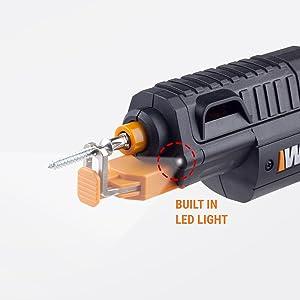 WORX WX255L SD Semi-Automatic Power Screw Driver with Screw Holder 18