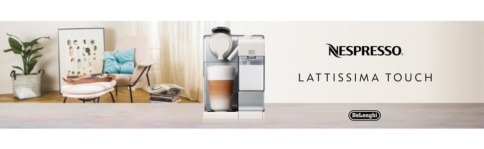 Lattissima Touch De'Longhi Palladium Silver EN550S