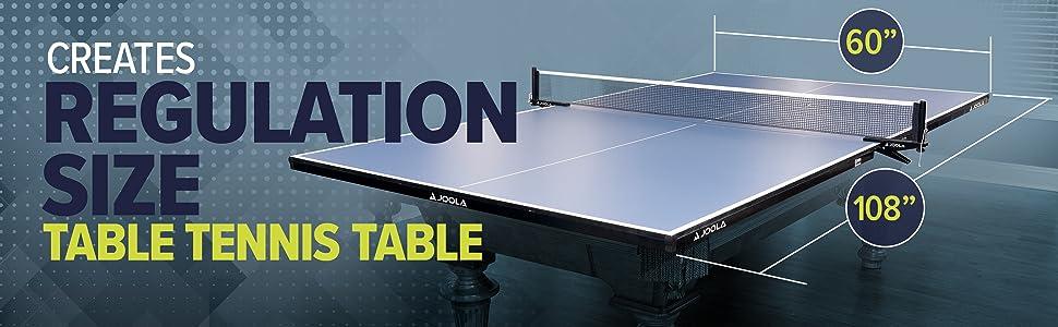 joola stiga conversion top ping pong table tennis billiard best fun game basement family