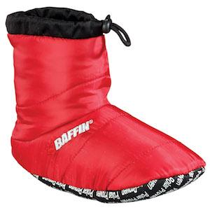 Bootie Red, slipper, tent shoe