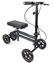 KneeRover Economy Knee Scooter in Matte Black