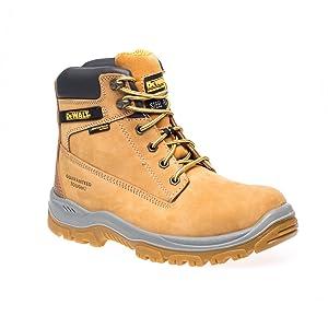 Titanium Safety Boots,Honey