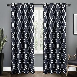mid-mod curtains;mid-century modern curtains;geometric curtains;chevron curtains;floral curtains
