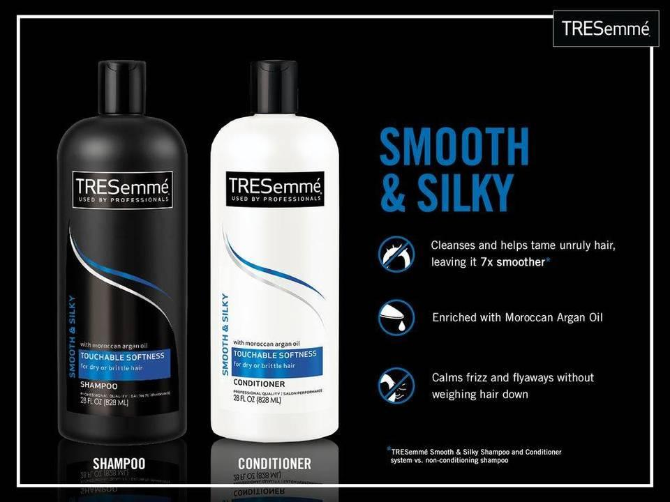 Amazon.com : Tresemme Smooth & Silky Shampoo with Moroccan