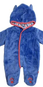 5c958b565e93 Amazon.com  Magnificent Baby Magnetic Me Smart Little Bears Fleece ...