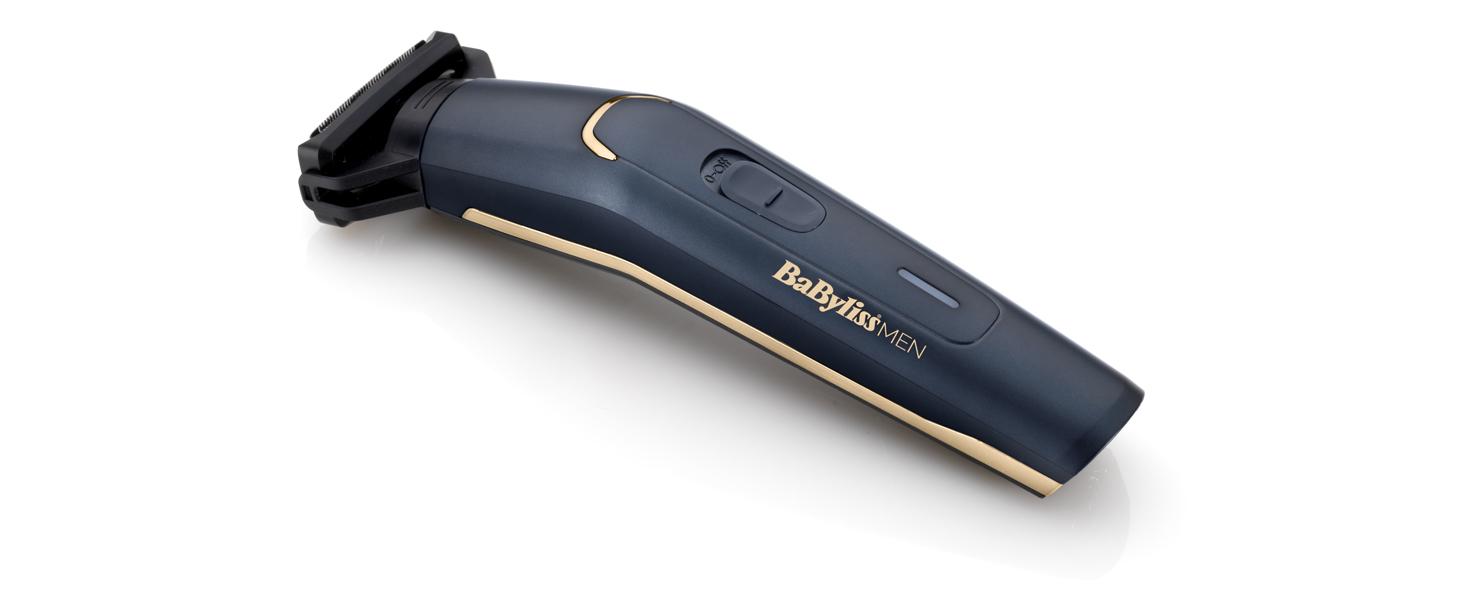 BaByliss MEN BG120E Recortadora corporal apta para uso bajo la ...