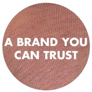 a trustworthy brand