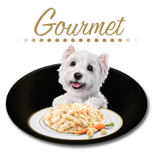 GOURMET DOG FOOD