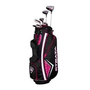 Amazon.com: Callaway 2019 Strata - Juego completo de golf ...