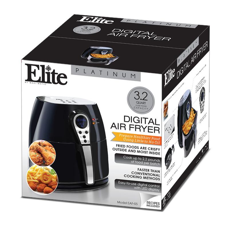 Amazon Com Elite Platinum Eaf 05 Electric Digital Air