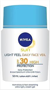 face sun cream; face moisturiser; face veil; moisturiser; SPF30