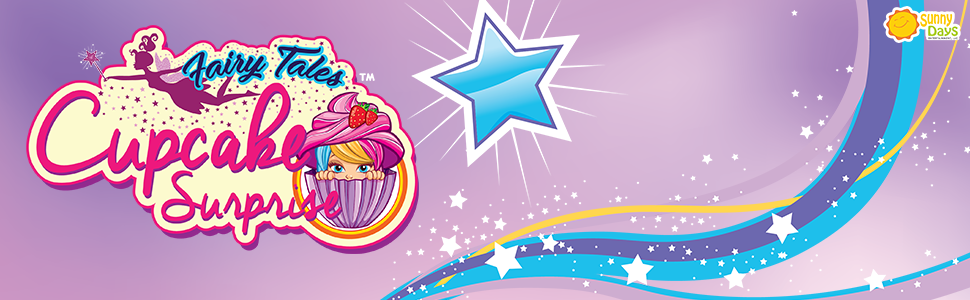 Cupcake Surprise Scented Princess Doll-Fairy Edition (Color