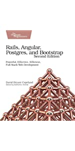 Rails, angular, postgres, and bootstrap: powerful, effective.