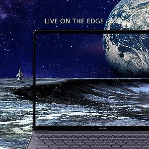 Live On The Edge MateBook X Display