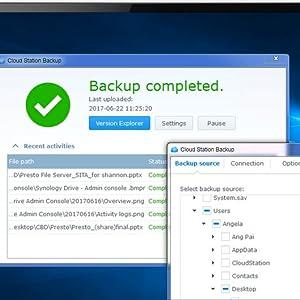 Synology DS218j 2 Bay Desktop NAS Enclosure