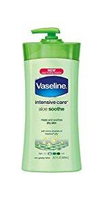 Vaseline Intensive Care Body Lotion Aloe Soothe